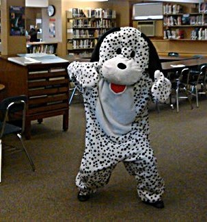 Library Mascot