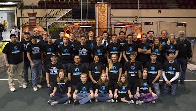Thunder Robotics team picture