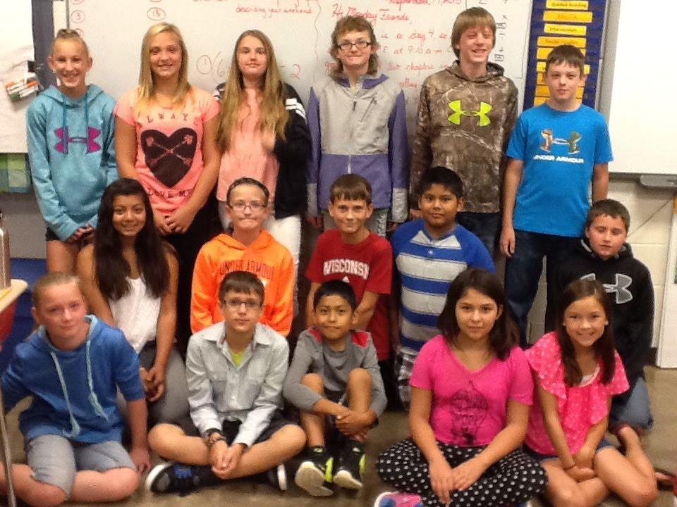 Mr. Anderson\'s Sixth Grade Class - 6th Grade