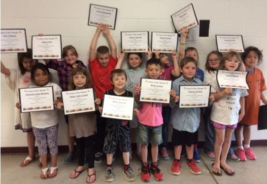 April Elementary Artists of the Month