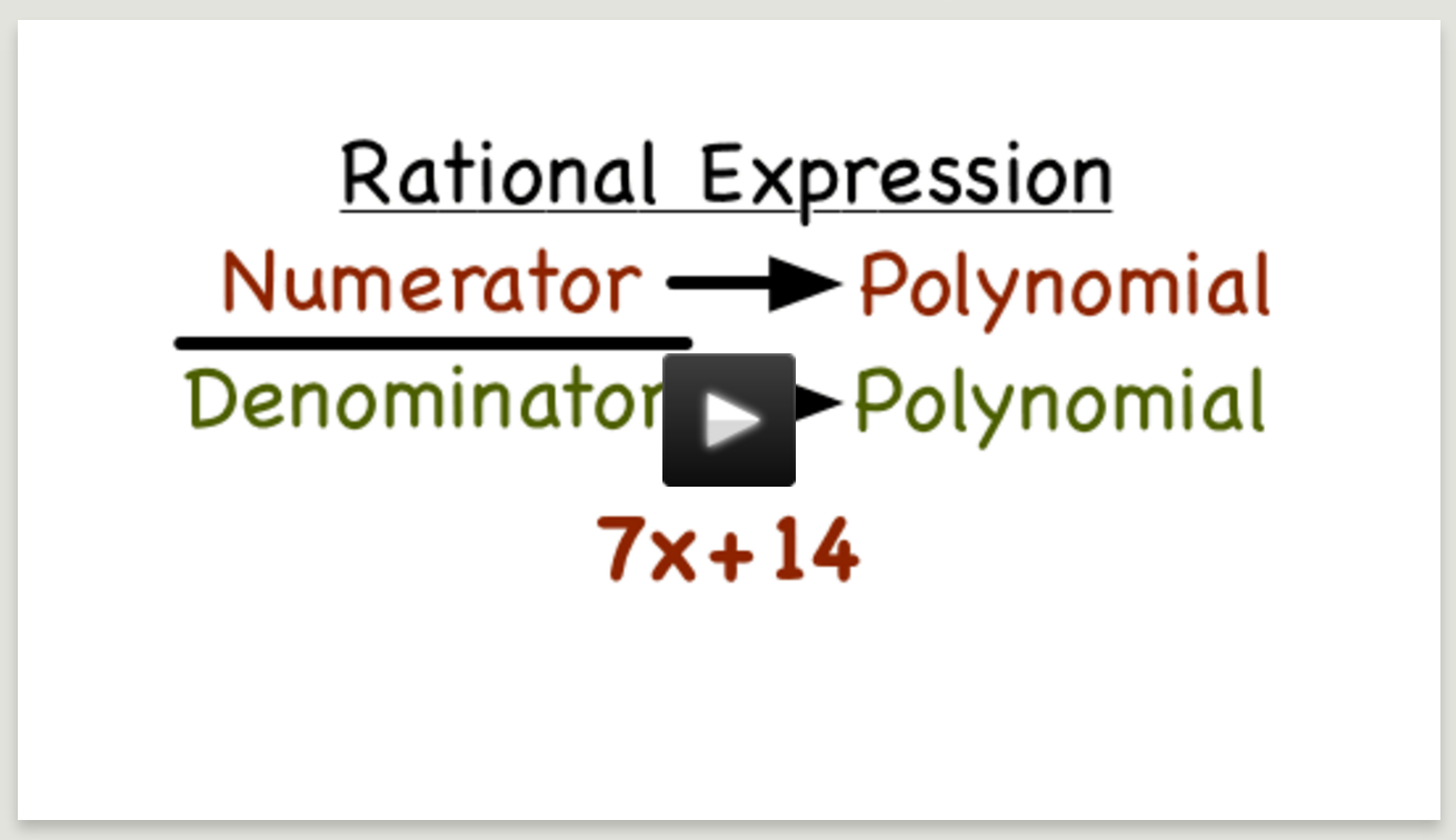 http://www.virtualnerd.com/algebra-2/rational-functions/multiply-divide-expressions/simplify-expressions/rational-expression-definition