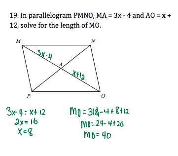 quadrilateral problem solving