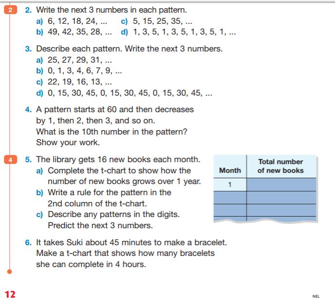 Math - Mr. Hopkins' Grade 4 Class 2016 - 2017