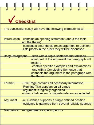 main argument definition