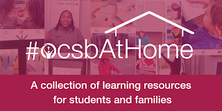 OCSB At Home: A collection of learning resources for students and families
