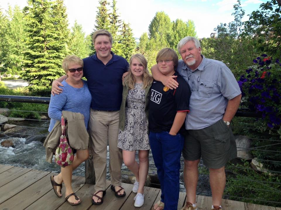 This is me and my family in Colorado last Summer.