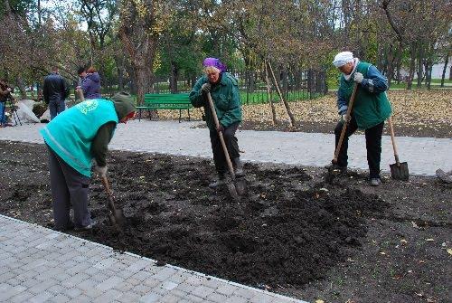 Парк Космонавтов готовится к открытию