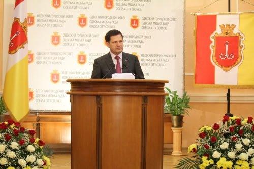 Городской голова Одессы отчитался перед горожанами