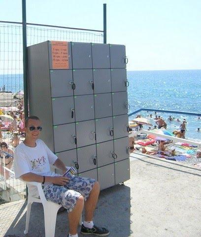 Пляжные ячейки хранения –  прекрасный способ зарабатывать  в курортный сезон
