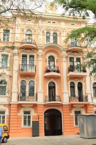 Обновленные фасады  на Софиевской