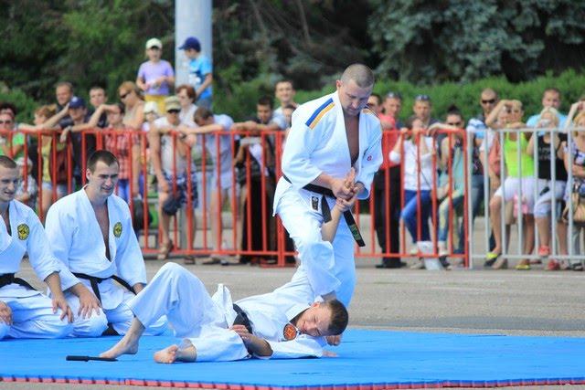 Чемпионат Украины по многоборью среди телохранителей