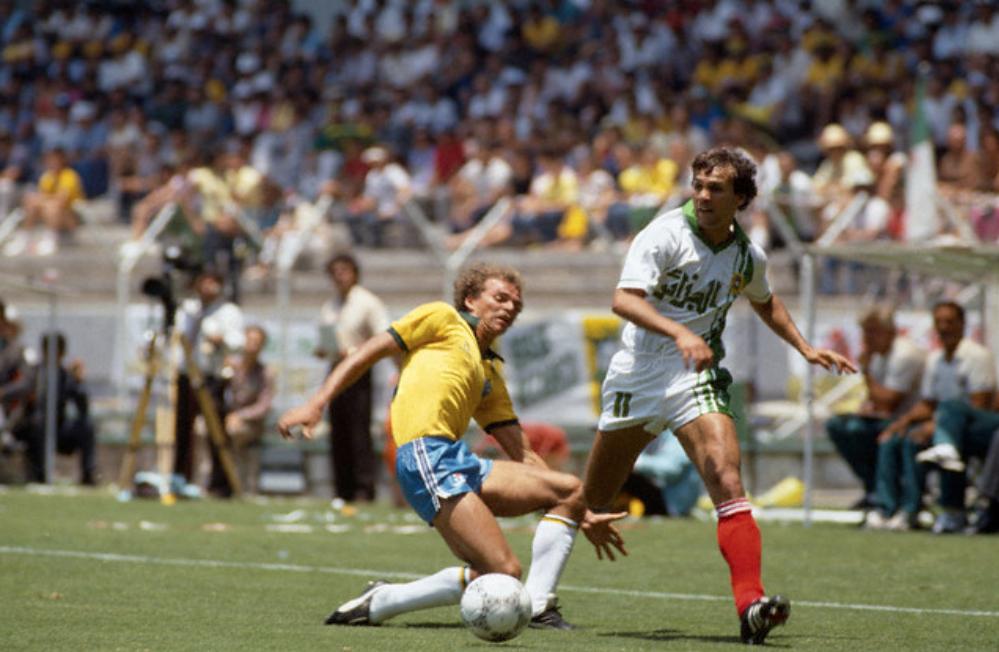 Groupe d algerie 1986 rabah madjer mexico86 - Quitte moi pendant la coupe du monde ...