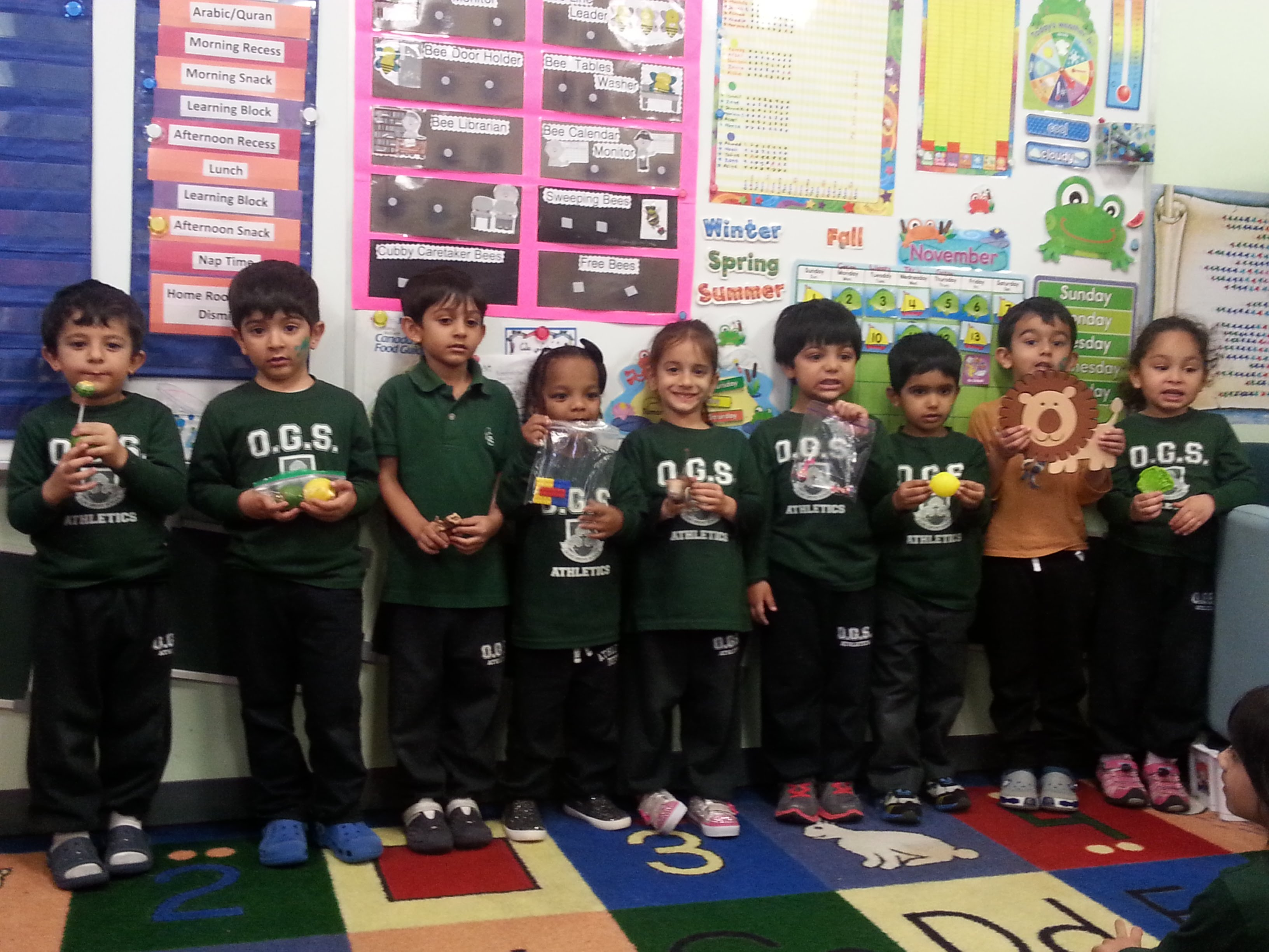 Show N Tell Junior Kindergarten 2015 2016