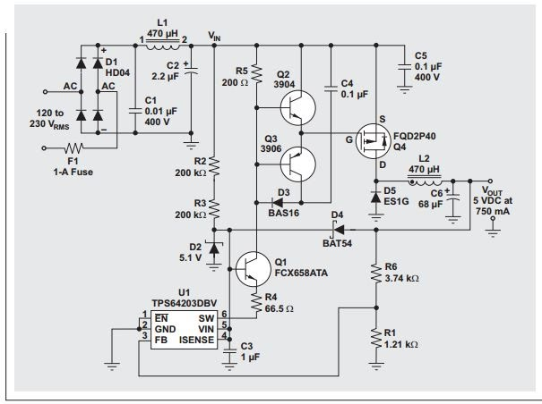 power supply block diagram explanation pdf