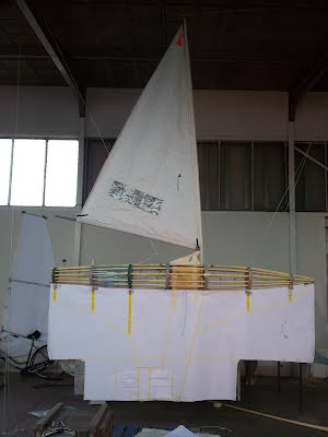 Protei 5.3 with sail
