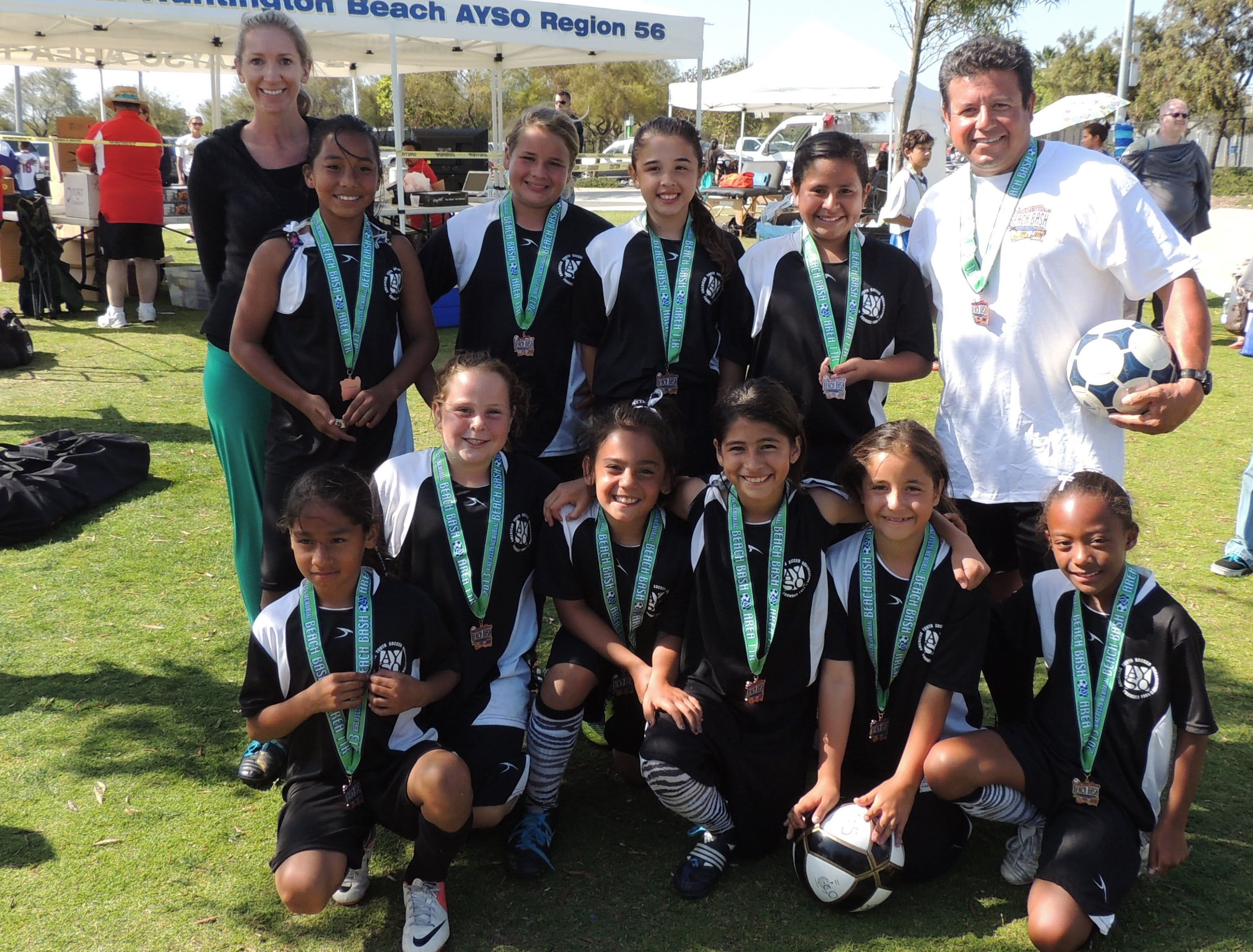 2013 Mike Fults Area K Beach Bash U10G 3rd Place