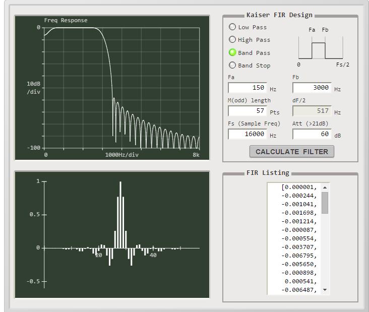 Digital Filter - Embedded Animal Noise Detector