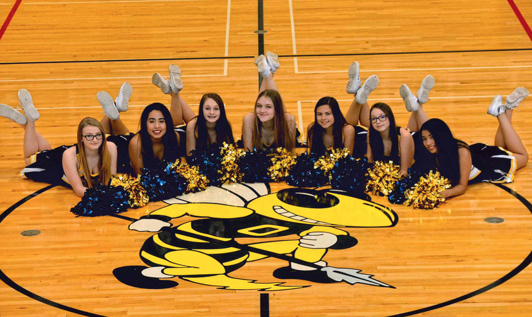 2017/18 BASKETBALL CHEERLEADERS
