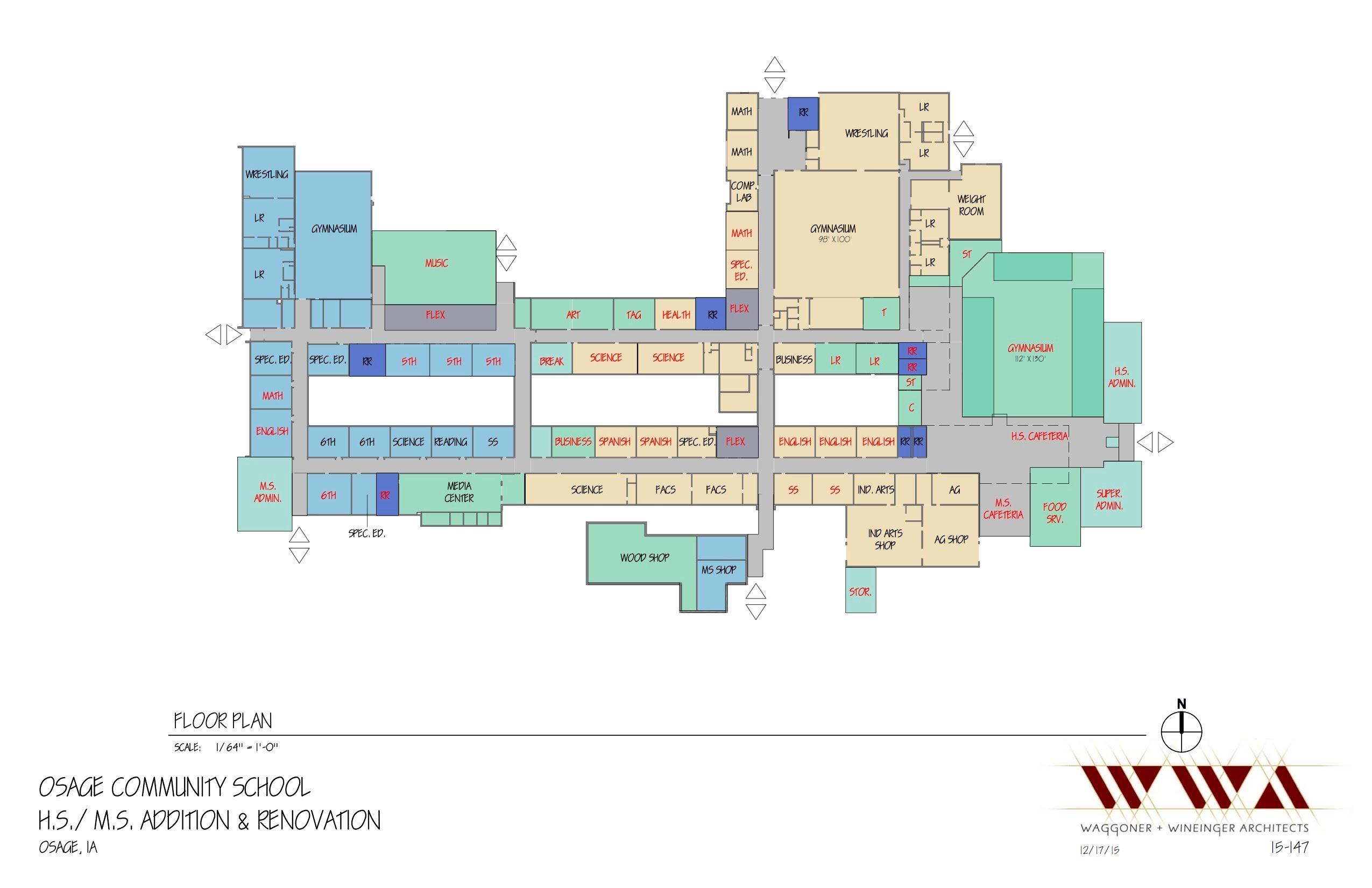 Build our future osage community schools for Jmc homes floor plans