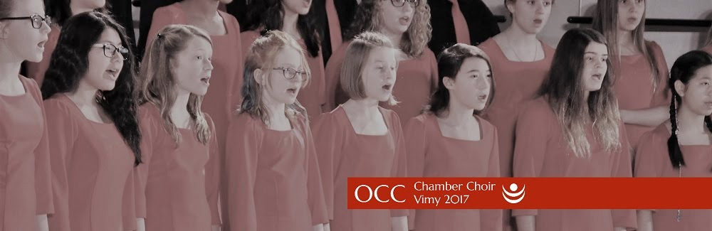 OCC Chamber Choir Christmas Concert 2016