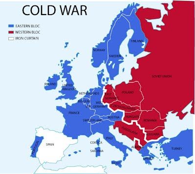 Cold War Maps   Global Studies
