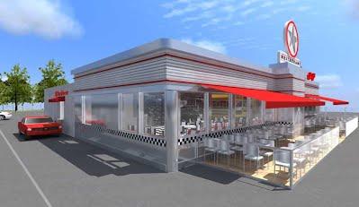 diner américain drive