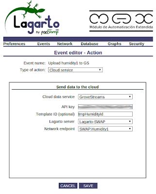 New action - Push value from lagarto-max