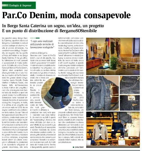 Infosostenibile Par.co Denim