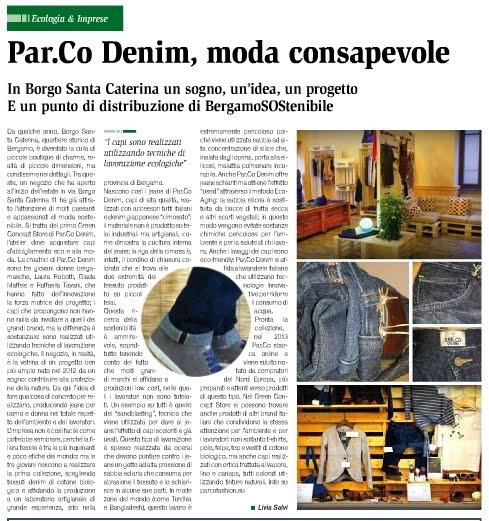 Infosostenibile Par.co Denim