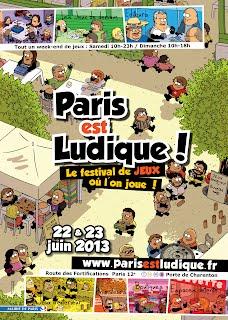 Affiche Paris est ludique