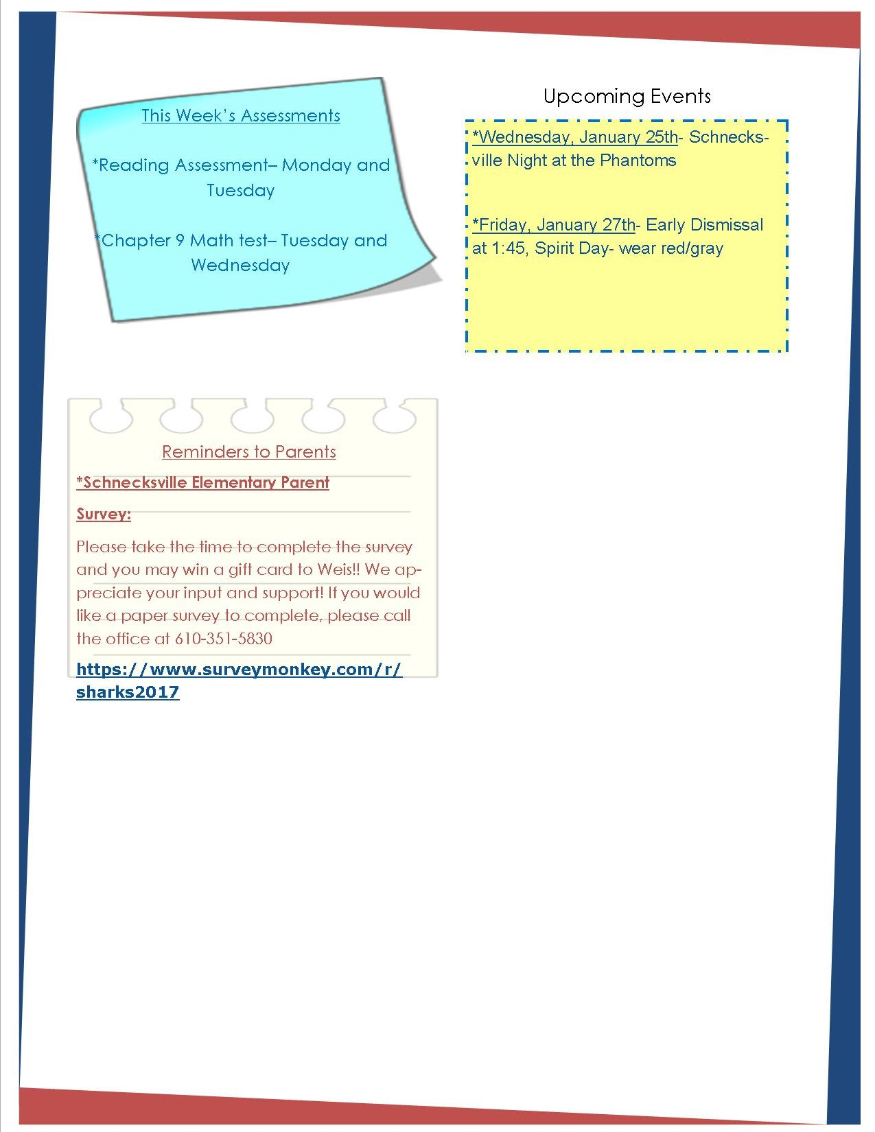 Weekly Newsletter Mrs Leibensperger S Third Grade