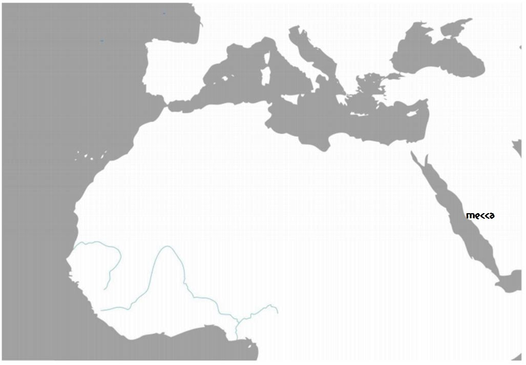 north africa map activity