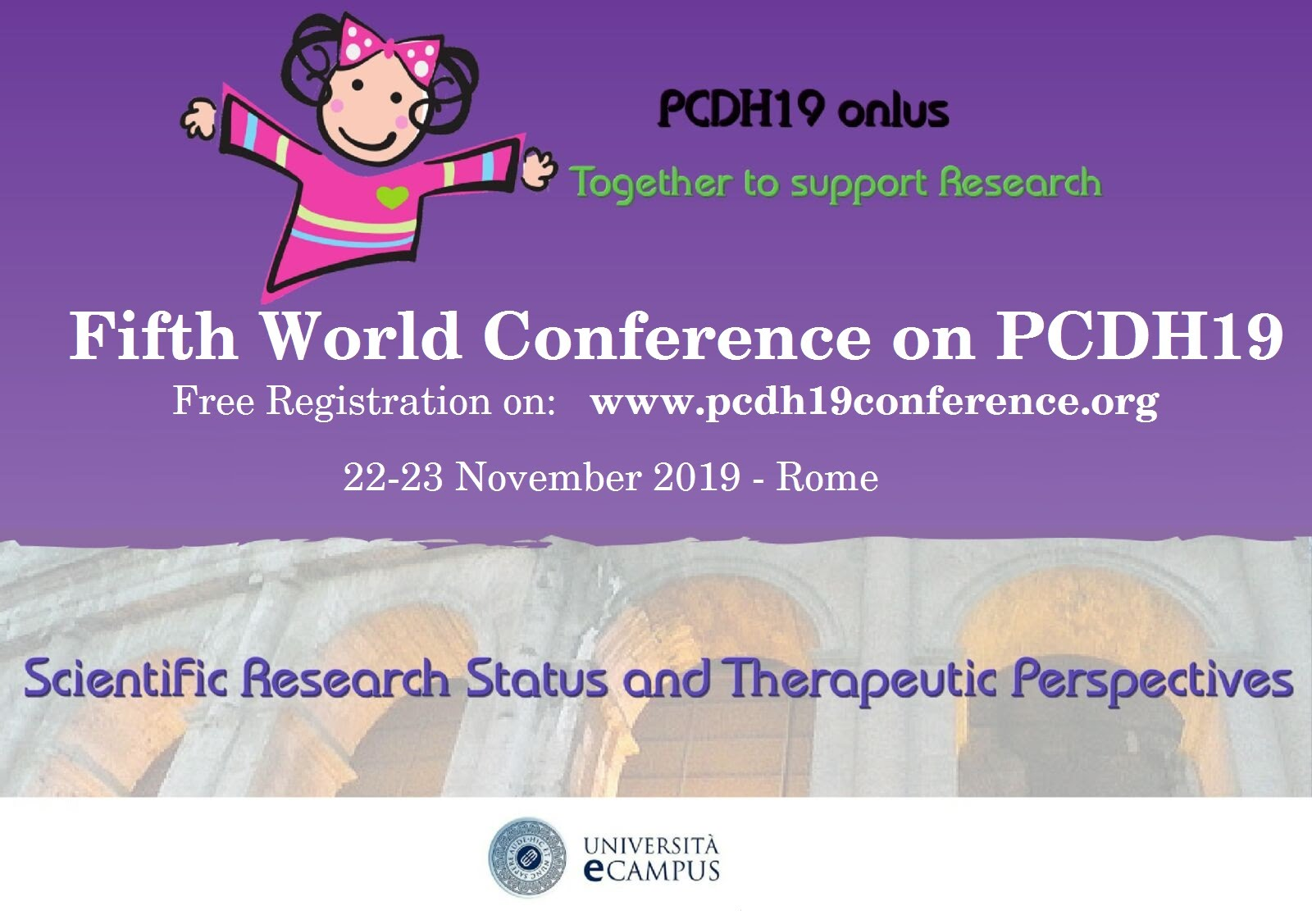 World Conference on PCDH19 - fifth edition