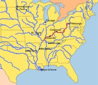 Facts About The Ohio River RiverHorse - Ky map forms