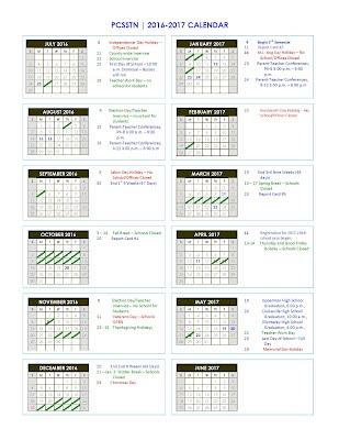 Putnam County 2016 2017 School Calendar   Northeast Elementary School