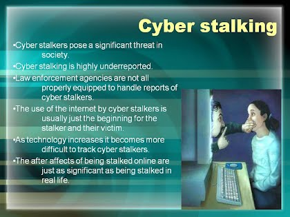 cyberstalking essay paper Open document below is an essay on cyberstalking from anti essays, your source for research papers, essays, and term paper examples.