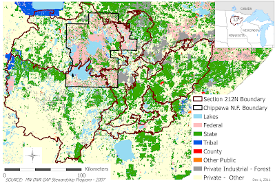 Hoyer Minnesota Map.New Afri Project On Forest Management In Mn Dynamic Ecosystems And