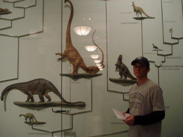 Natural History Museum New York Dinosaur Drawing