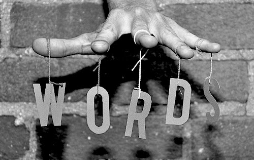 Power of Words--Unknown Photographer