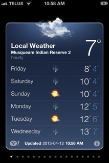 Weather Report Reservation