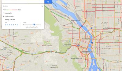 Portland Oregon Traffic Map Air Quality and Ozone in Portland, Oregon   Portland Air Quality