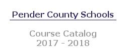 Course Catalog 2017-2018