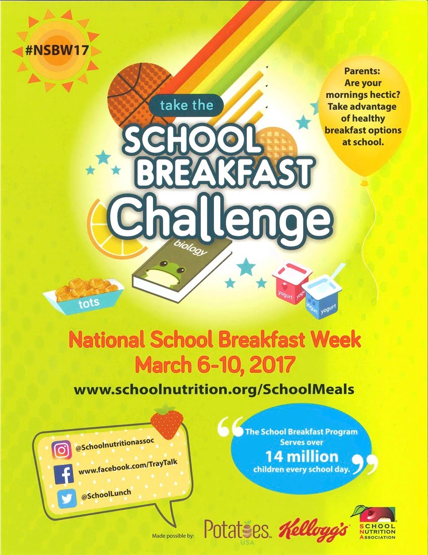 Breakfast Challenge Flier