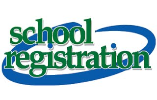 School Registration Sign