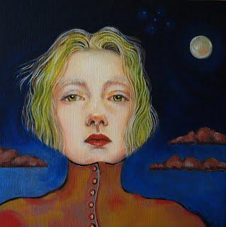 'Eliza Moonlight'   30 cm x 30 cm