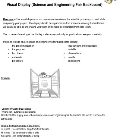 pgcps science fair research paper