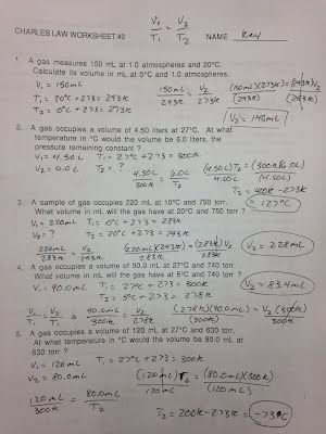 Printables Charles Law Worksheet Answers assignmentslabs erhs chemistry with mr stagg boyles law practice answer key