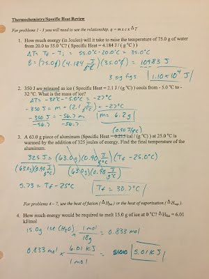 Printables Thermodynamics Worksheet Answers assignmentslabs erhs chemistry with mr stagg thermodynamics review problems answer key