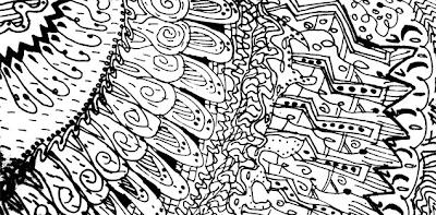 Sketchbook #3: Doodle Patterns (Zentangle) - ESOL Computer