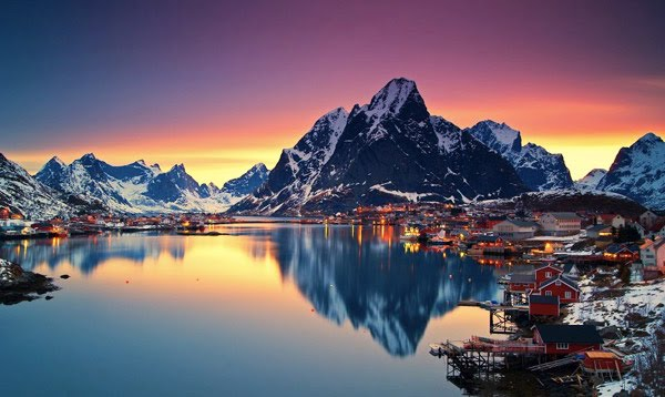 Lofoten Islands ประเทศนอร์เวย์ - 9 สถานที่มหัศจรรย์